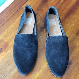 Shoe, Suede, Black